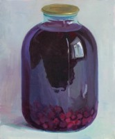 Compote, 2009, oil on canvas, 60x50