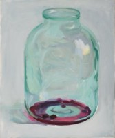 Compote finished, 2009, oil on canvas, 60x50